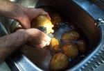 Wash Potatoes