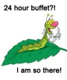 1056488-hungry-caterpillar-with-a-bib-and-silverware-on-a-leaf